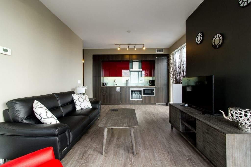 Corporate Stays Toronto Living Room