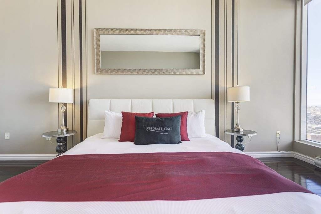 Corporate Stays Montreal Bedroom
